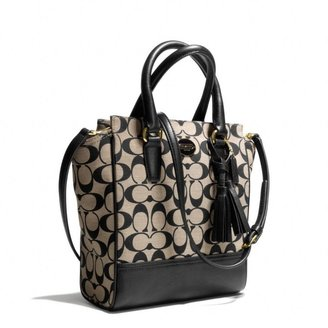 Coach Legacy Mini Tanner Crossbody In Printed Signature Fabric