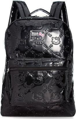 Hello Kitty Signature-Embossed Backpack