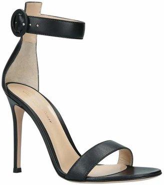 Gianvito Rossi Portofino 105 Leather Heeled Sandals