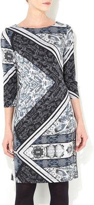 Wallis Grey Snake Print Tunic Dress