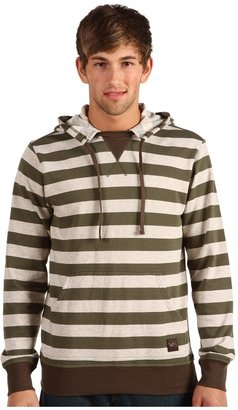 RVCA Faction Pullover Hoodie (Army Drab) - Apparel