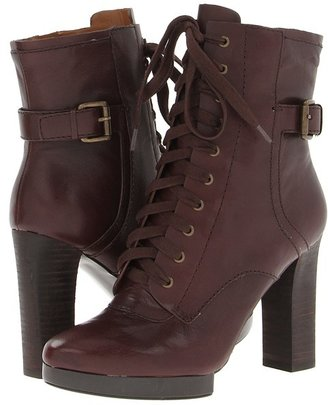 Nine West Beatrivia (Dark Brown Leather) - Footwear