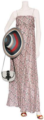 Cacharel Multicolor Floral Print Maxi Dress