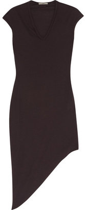 Helmut Lang HELMUT Modal and cotton-blend jersey dress