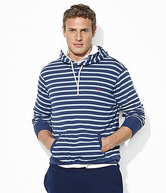 Polo Ralph Lauren Big & Tall Striped Jersey Pullover Hoodie