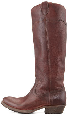Frye Carson Lug-Sole Riding Boot