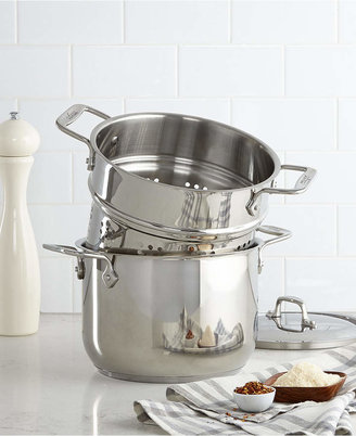All-Clad Stainless Steel 6 Qt. Covered Multi-Pot with Pasta Insert