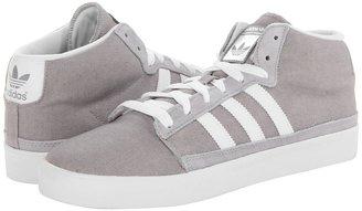 adidas Skateboarding - Rayado Mid (Mid Grey/White/Tech Grey) - Footwear