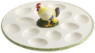 Paula Deen Signature Southern Rooster Round Egg Tray