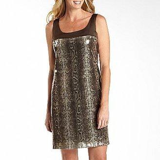 JCPenney Danny & Nicole® Sleeveless Trapeze Dress