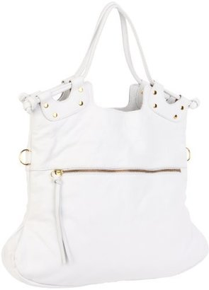 Pietro Alessandro Women's 4007 White Matte 4007 Shoulder Bag