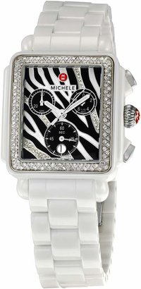 Michele Women's MWW06F000010 Deco Chronograph Watch