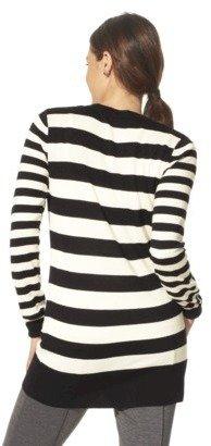 Merona Women's Boyfriend Striped Cardigan Sweater - Assorted Colors