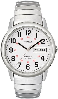 Timex Men's Easy Reader Stainless Steel Expansion Watch - T204619J
