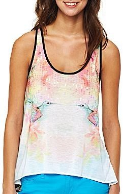 JCPenney Decree® Graphic Tank Top