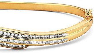 JCPenney Diamond 3-Row Bangle 1/2 CT. T.W.