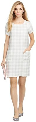 Gingham Patch Pocket Dress $795 thestylecure.com