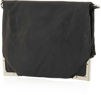 Topshop Metal Corner Crossbody Bag