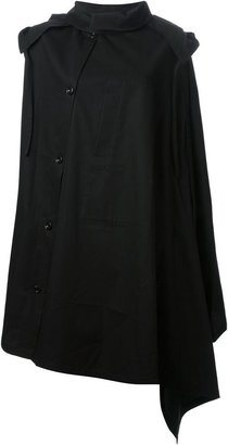 Christophe Lemaire caped trench coat