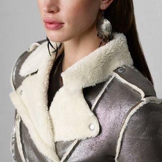 Denim & Supply Ralph Lauren Metallic Moto Jacket