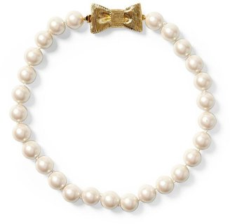 Kate Spade All Wrapped Up Pearls Short Necklace