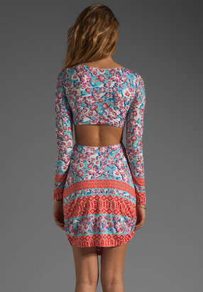 Pencey Open Back Dress