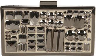 Topshop Embellished Box Clutch Bag