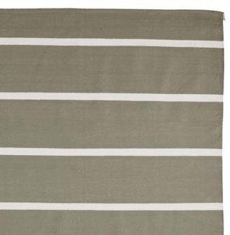 Jersey Stripe Dhurrie Olive
