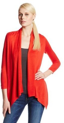 Chaus Women's Drape-Front Cardigan Sweater