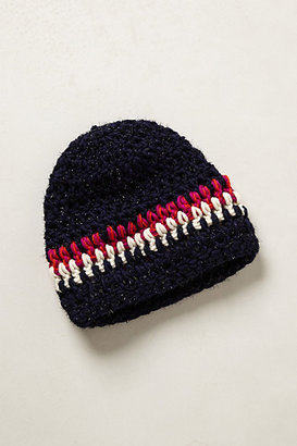 Anthropologie Andes Striped Beanie