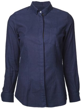 Golden Goose Deluxe Brand concealed button front shirt
