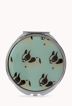 Forever 21 French Bulldog Mirror Compact