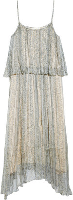 Band Of Outsiders Tiered floral-print dress