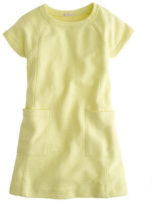 J.Crew Girls' sweatshirt pocket dress