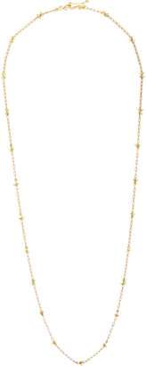 Ten Thousand Things Gold Luxe Beaded 'X' Necklace