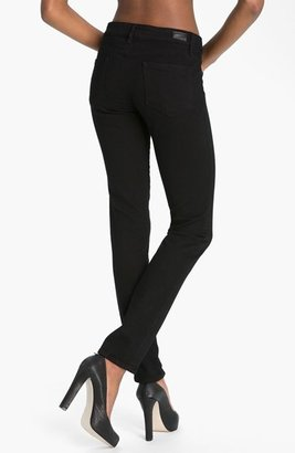 Paige 'Skyline' Skinny Stretch Jeans (Black Ink)