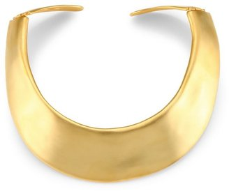Kenneth Jay Lane Golden Collar Necklace