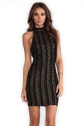 Torn By Ronny Kobo Claudia Halter Dress