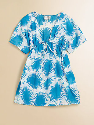 Milly Minis Girl's Aster Print Coverup