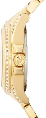 MICHAEL Michael Kors Michael Kors 'Mini Camille' Pavé Bezel Bracelet Watch, 26mm