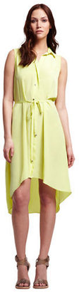 Kenneth Cole NEW YORK High-Low Shirt Dress