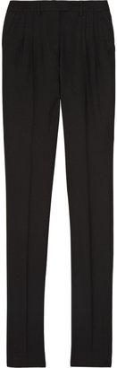 Maison Martin Margiela Straight-leg stretch-wool pants