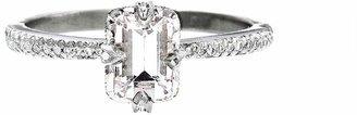 Cathy Waterman Morganite Solitaire Engagement Ring