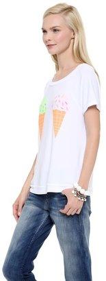 Wildfox Couture We Dream of Ice Cream Top