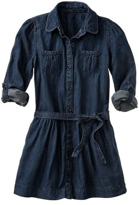 Gap Convertible denim dress