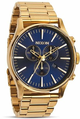 Nixon The Sentry Chrono Watch, 42mm $350 thestylecure.com