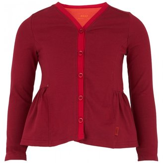 Oilily Red and Orange Cardigan