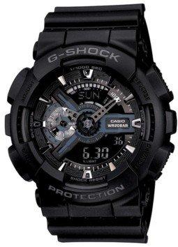 G-Shock Men's Analog Digital Black Resin Strap Watch, 55mm GA110-1B