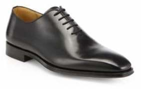 Saks Fifth Avenue Collection by Magnanni Leather Balmoral Shoes