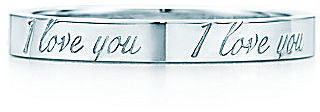 "Tiffany & Co. Notes®:""I Love You"" Ring"